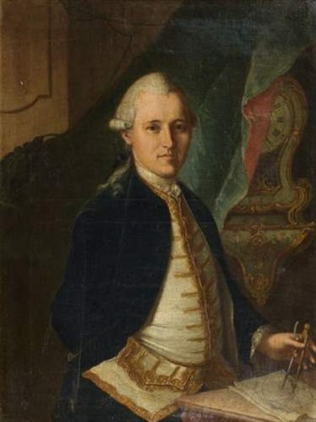 portrait de franciscus petrus de delley by gottfried locher