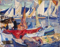 drying sails i by e.charlton fortune
