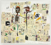 peter and the wolf by jean-michel basquiat