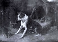 defending the pups by edward robert physick