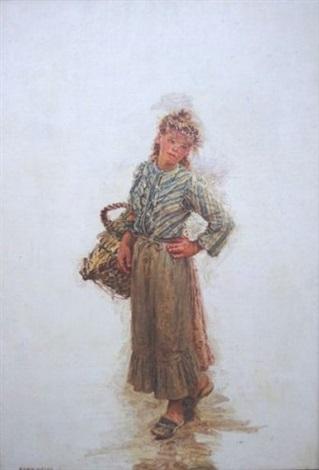jeune fermière by marie françois firmin girard