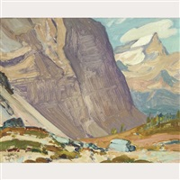 near mt odaray, rocky mts by james edward hervey macdonald