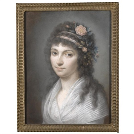 portrait of contessa costanza salmone de serravalle by laurent pécheux