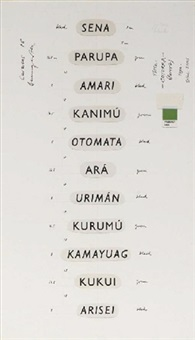 cotorra (template) by lothar baumgarten