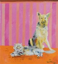 cane e gatto by athos faccincani