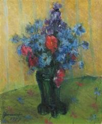 vase with wild flowers by hrandt avachian