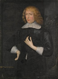 portrait of william seymour, marquess of hertford, later duke of somerset by gilbert jackson