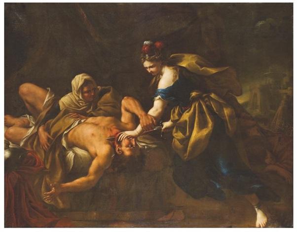 judith et holopherne by nicola vaccaro