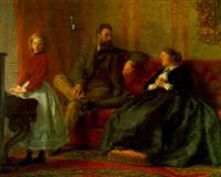 die familie julius meyer by wilhelm heinrich fussli