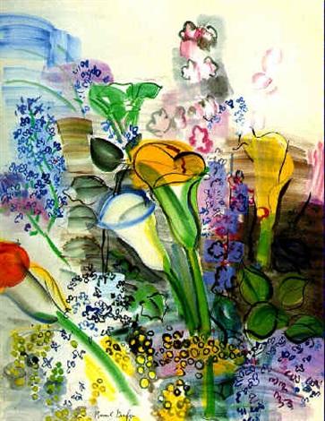 Bouquet darums et fleurs des champs by raoul dufy on artnet - Bouquet de fleurs des champs ...