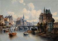 city view by c. ganto