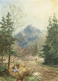 greenwood notch by jasper francis cropsey