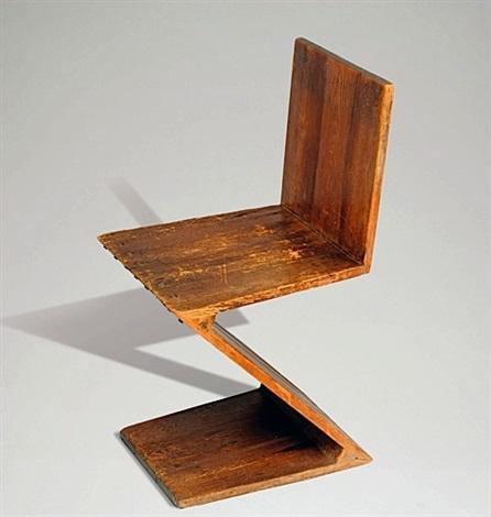 La Chaise Zig Zag Chair By Gerrit Rietveld
