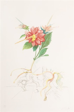 unicorn by salvador dalí