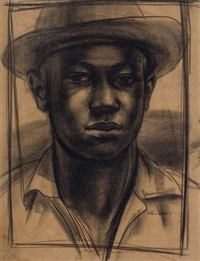 untitled (farm boy) by john wilson