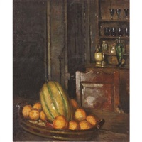 interior with fruit, offranville by ethel sands
