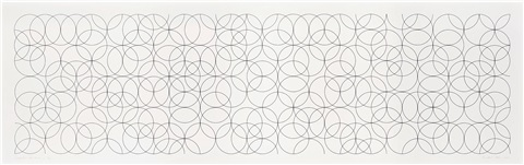 composition with circles 2 by bridget riley