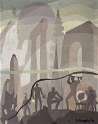 building more stately mansions by aaron douglas