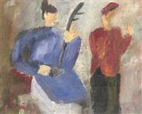 cheo-figuren by bui xuan phai