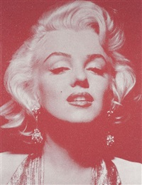 reach out and touch faith (marylin portrait) by russell young