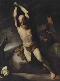 the martyrdom of saint bartholomew by luca giordano