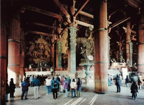 todai ji interior nara by thomas struth