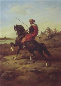 cavaliers arabes by jules faber