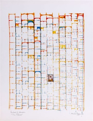 portrait of hanson the process ii by brion gysin