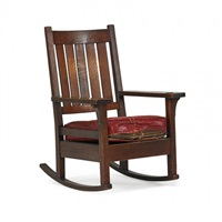 early rocker, eastwood, ny by gustav stickley