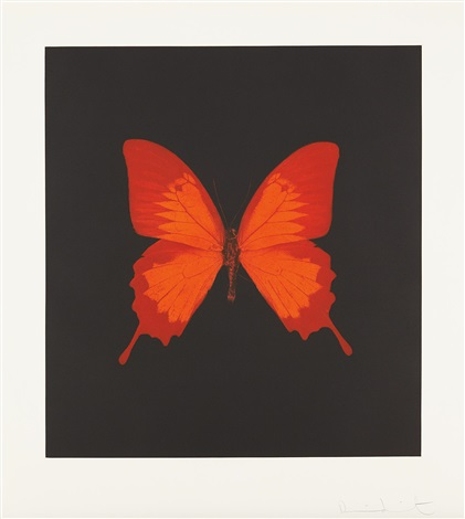 plate 3 from the souls on jacobs ladder take their flight by damien hirst