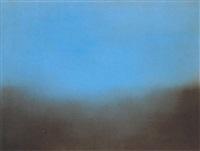 landscape indigo blue #3 by chris langlois