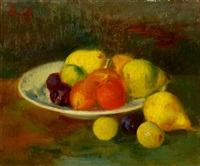 still life with fruits by gerhard arnold christiaan smith