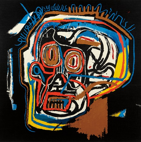 head by jean michel basquiat