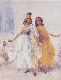 danseuses orientales by william lambrecht