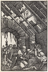 the adoration of the magi by albrecht altdorfer