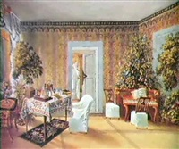 interior at belmont, bern by fanny holden