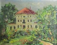house with garden by dan bajenaru