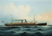the p. & o. line r.m.s. salsette by anglo-chinese school (20)