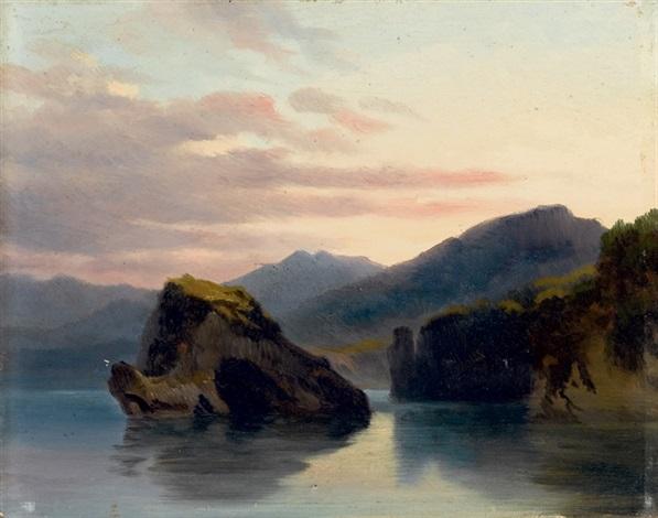paesaggio lacustre by massimo dazeglio