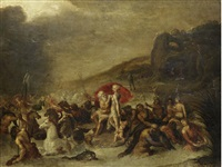 the triumph of neptune and amphitrite by frans francken the younger