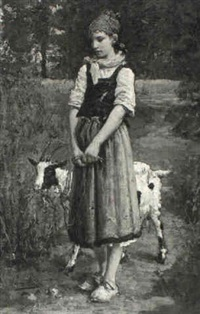 a young goatherd by pierre billet