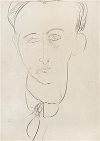 portrait d'un jeune homme by amedeo modigliani
