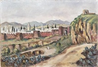 vue panoramique de fez by albert lepreux