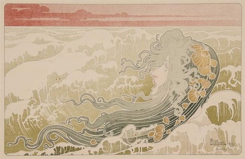 la vague by henri privat livemont