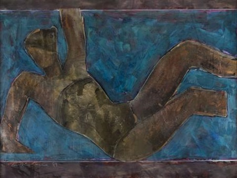 dancing figure by ivor abrahams