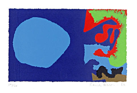 october 5 by patrick heron