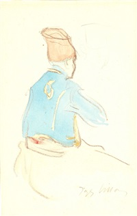 un zouave by jacques villon