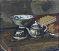 nature morte à la porcelaine by jacques emile blanche