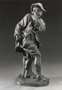 figure of a beggar by pieter xavery