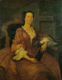 portrait of elizabeth vaughan, mrs. lloyd by john lewis